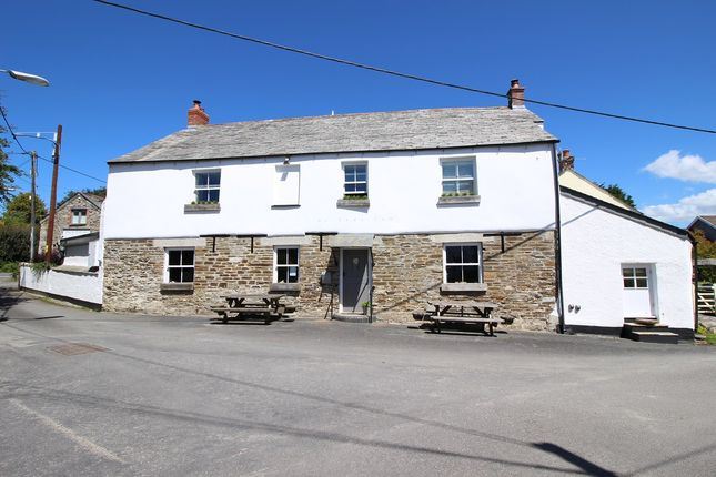 Thumbnail Pub/bar for sale in St Tudy, Cornwall