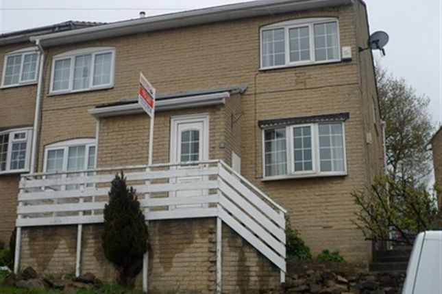 Thumbnail Town house to rent in Brownhill Road, Birstall, Batley