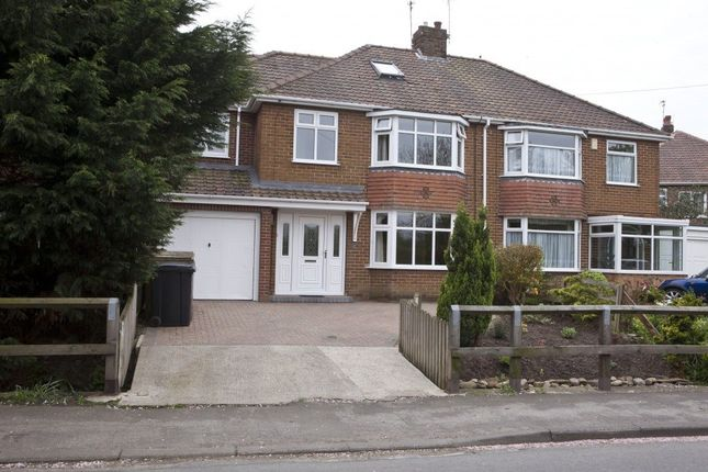 Thumbnail Semi-detached house to rent in The Village, Osbaldwick, York