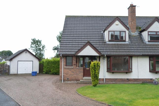 Thumbnail Semi-detached house to rent in Greenview, Parkgate, Templepatrick