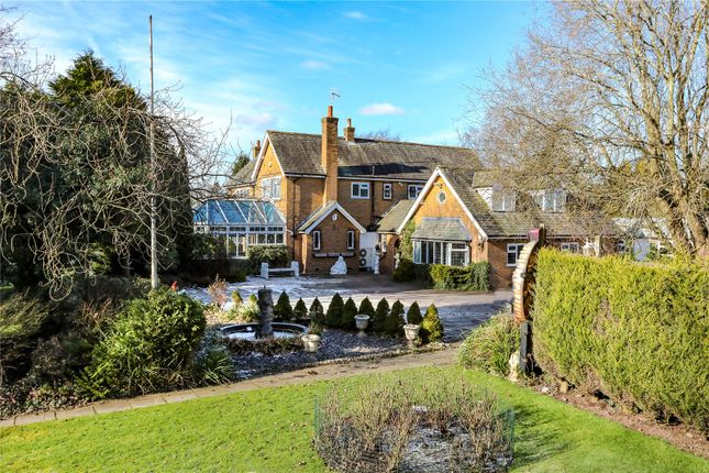 Thumbnail Detached house for sale in Prestbury Road, Wilmslow, Cheshire