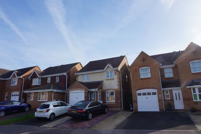 Thumbnail Detached house for sale in Elsham Way, Swindon