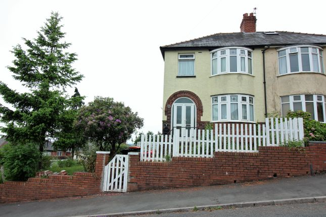 Thumbnail Semi-detached house for sale in Upper Tennyson Road, Newport