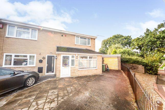 Thumbnail Semi-detached house for sale in Lon Y Llwyn, Nelson, Treharris