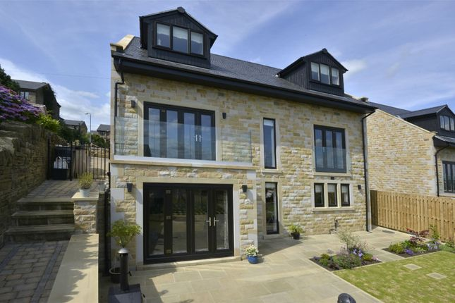 Thumbnail Detached house for sale in School Lane, Southowram, Halifax, West Yorkshire