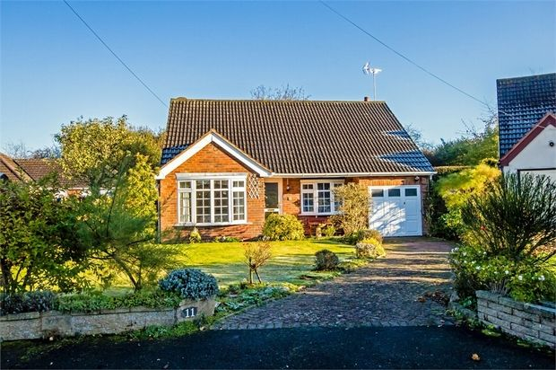 Thumbnail Detached bungalow for sale in Telford Gardens, Brewood, Stafford