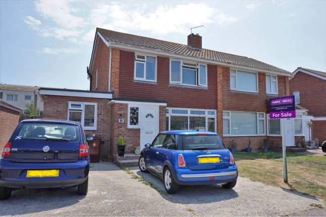 Thumbnail Semi-detached house for sale in Broad View, Selsey, Chichester