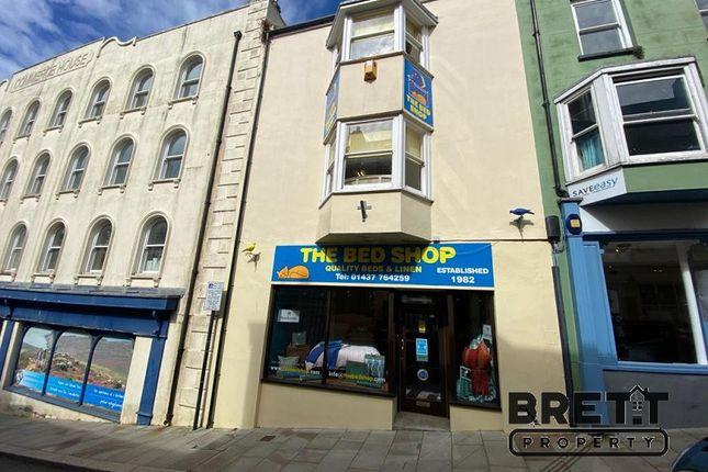 Thumbnail Retail premises for sale in Market Street, Haverfordwest, Pembrokeshire.