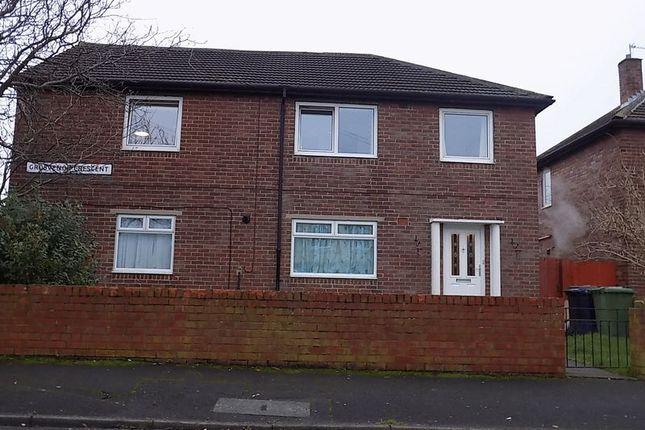 Thumbnail Flat to rent in Grosvenor Crescent, Hebburn
