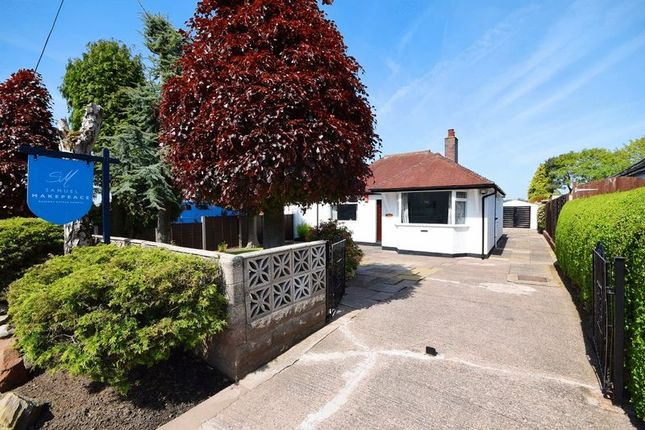 Thumbnail Detached bungalow for sale in The Green, Caverswall, Stoke-On-Trent