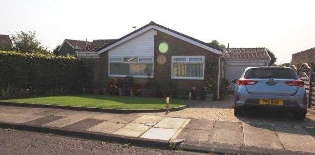 Thumbnail Bungalow for sale in Gresham Close, Southfield Green, Cramlington