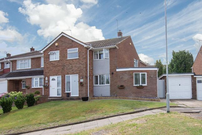 Thumbnail Semi-detached house for sale in Langdale Road, Dunstable, Bedfordshire
