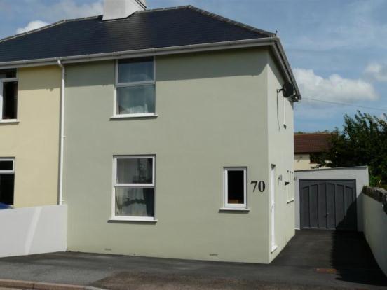 Thumbnail 2 bed semi-detached house for sale in Exeter Road, Kingsteignton, Newton Abbot, Devon
