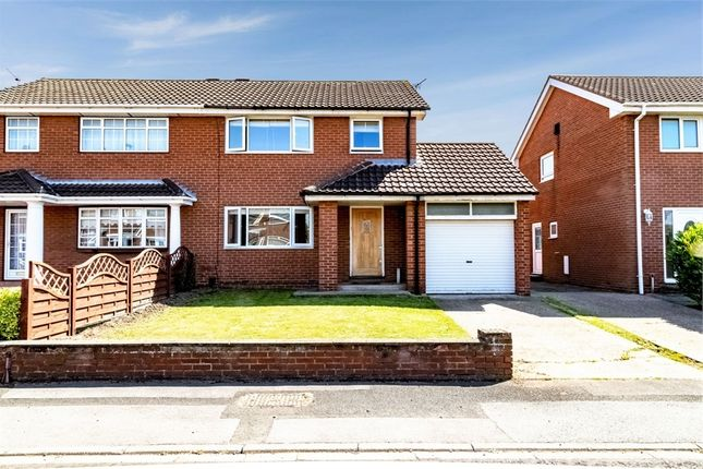 Thumbnail 3 bed semi-detached house for sale in Sandalwood, South Shields, Tyne And Wear