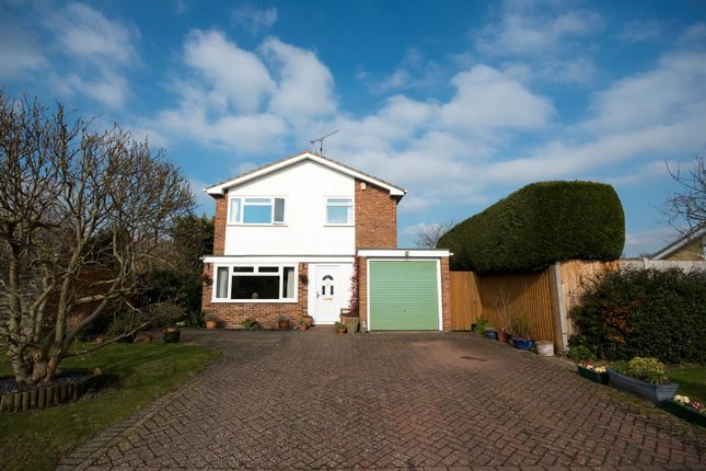 Thumbnail Detached house for sale in Nash Close, Earley, Reading
