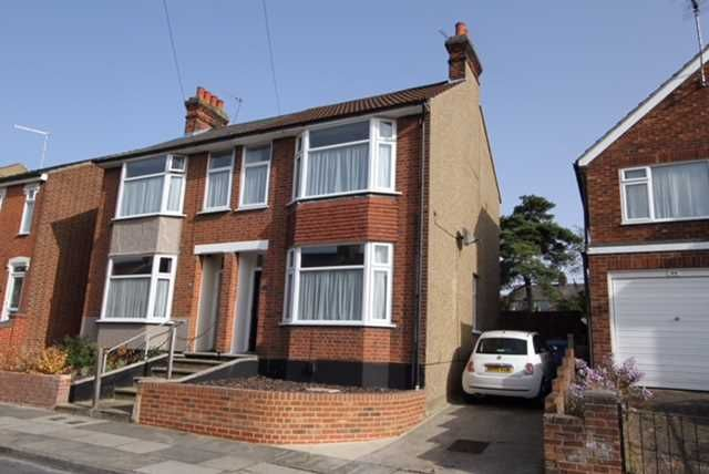 Semi-detached house for sale in Kensington Road, Ipswich