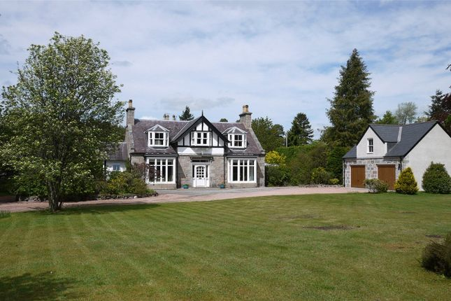 Thumbnail Detached house for sale in Deeside Lodge, Charlestown Road, Aboyne, Aberdeenshire