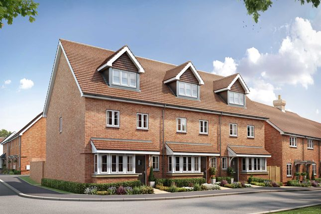 Thumbnail End terrace house for sale in Millpond Lane, Faygate, Horsham