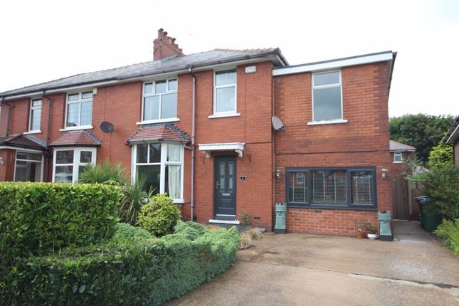 Thumbnail Semi-detached house to rent in Norwich Avenue, Bamford, Rochdale
