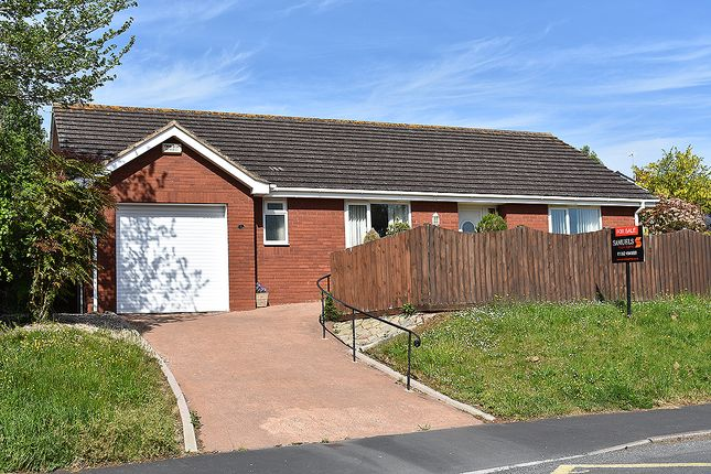 Thumbnail Detached bungalow for sale in Bishop Westall Road, Countess Wear, Exeter