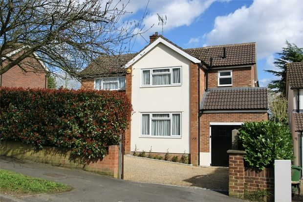 Thumbnail Detached house for sale in Thorley Hill, Bishop's Stortford