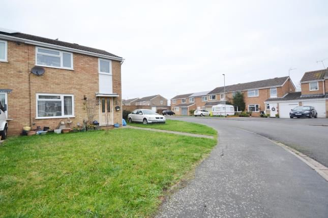 Thumbnail Semi-detached house for sale in Fairmead Crescent, Rushden, Northamptonshire