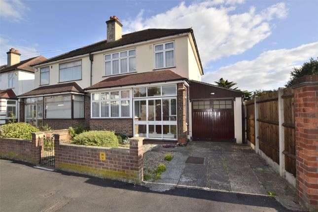 Thumbnail Semi-detached house for sale in West Avenue, Wallington, Surrey