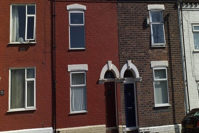 Thumbnail Terraced house to rent in Cholmondeley Street, Widnes, Cheshire