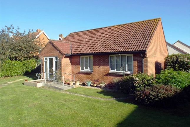 Thumbnail Detached bungalow for sale in Priory Gardens, Burnham-On-Sea, Somerset
