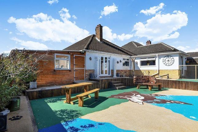Thumbnail Detached bungalow for sale in Heath Road, Pamber Heath, Tadley