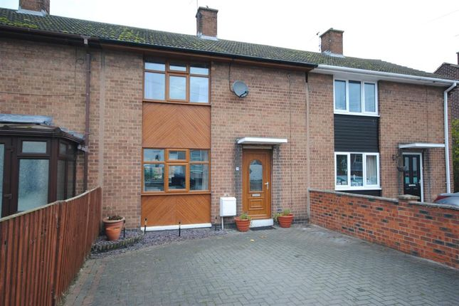 Thumbnail Town house for sale in Chapman Lane, Grassmoor, Chesterfield