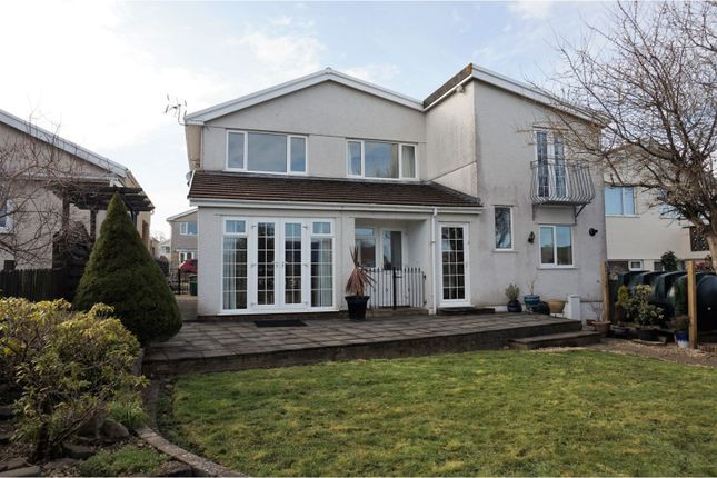 Thumbnail Detached house for sale in Heol Tir Coch, Pontypridd