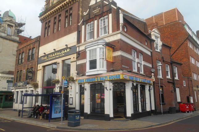 Thumbnail Flat to rent in Edinburgh Road, Portsmouth