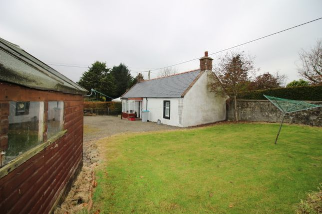 Thumbnail Cottage for sale in Low Road, Hightae, Lockerbie