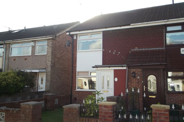 Thumbnail End terrace house to rent in Pauline Walk, Fazakerley, Liverpool