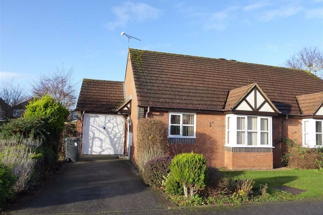 Thumbnail Semi-detached bungalow for sale in Montgomery Road, Leamington Spa, Warwickshire