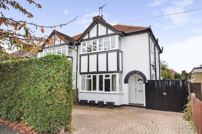 Thumbnail Semi-detached house for sale in Warren Road, New Haw, Addlestone