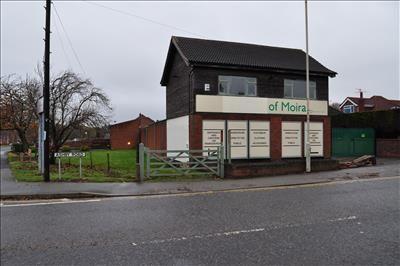 Thumbnail Retail premises for sale in 1-3 Ashby Road, Moira, Swadlincote