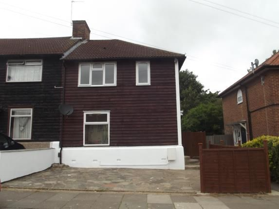 Thumbnail End terrace house for sale in Gervase Road, Edgware
