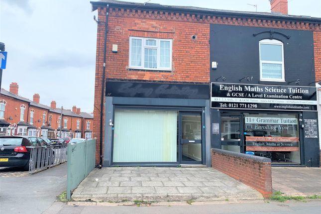 Thumbnail Retail premises for sale in Showell Green Lane, Sparkhill, Birmingham