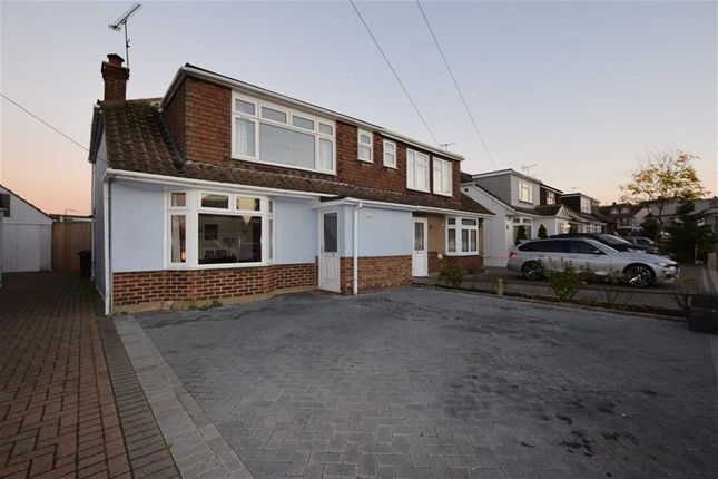 Thumbnail Semi-detached house for sale in Birchwood Road, Corringham, Essex