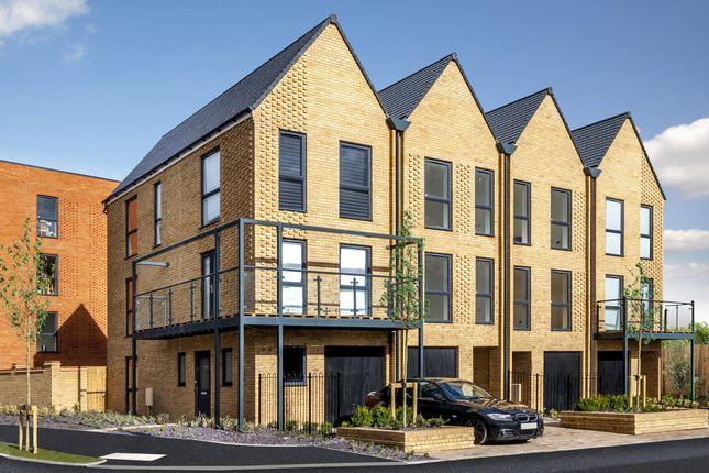 "Thumbnail End terrace house for sale in ""Twill"" at Hackbridge Road, Wallington"