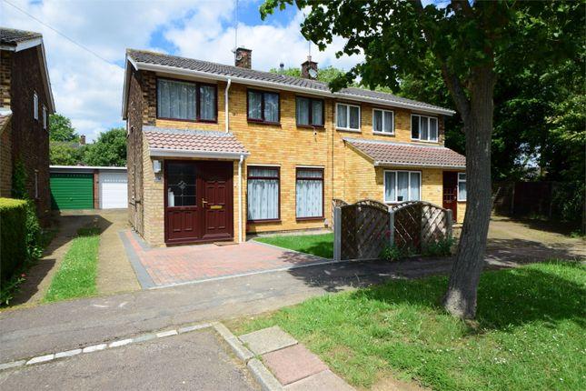 Thumbnail Semi-detached house for sale in Chertsey Rise, Stevenage, Hertfordshire