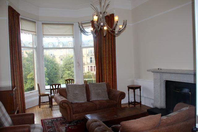 Thumbnail Flat to rent in Glencairn Crescent, Edinburgh