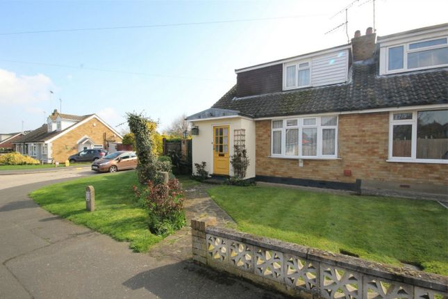 Thumbnail Semi-detached house for sale in Longmore Avenue, Great Baddow, Chelmsford, Essex