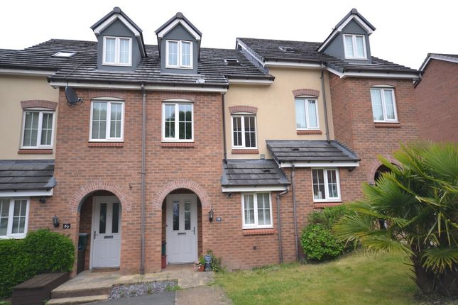 Thumbnail Town house for sale in Sorrell Gardens, Clayton, Newcastle-Under-Lyme