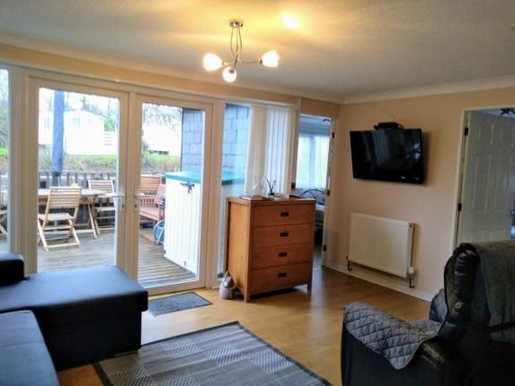 Living Area of Glan Gwna Holiday Park, Caeathro, Caernarfon, Gwynedd LL55