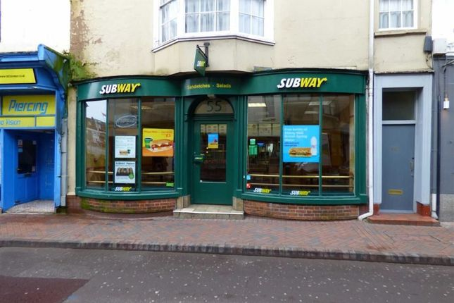 Retail premises for sale in St. Thomas Street, Weymouth