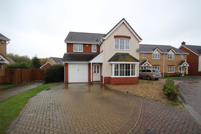 Thumbnail Detached house for sale in Jaguar Close, Ipswich