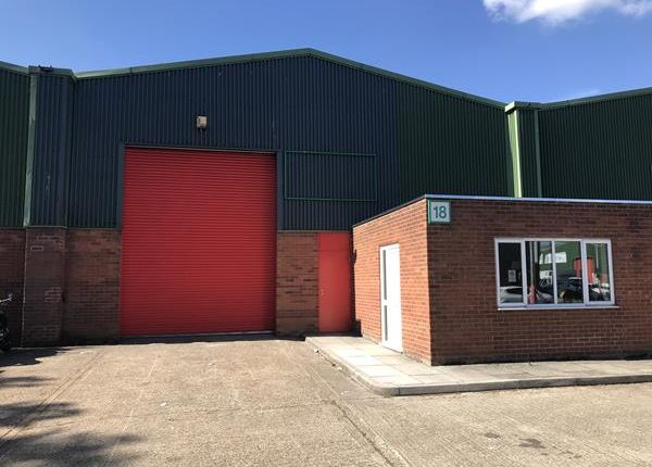 Thumbnail Warehouse to let in Murrayfield Road, Union Park, Norwich